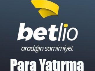 Betlio Para Yatırma