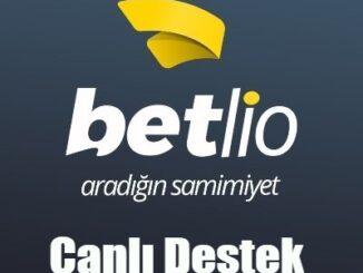 Betlio Canlı Destek
